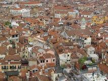 Toits de Venise Images libres de droits