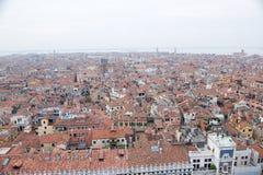 Toits de Venise Image libre de droits