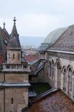 Toits de vieille Genève Image libre de droits