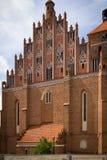 Toits de vieille ville de Reszel photo stock