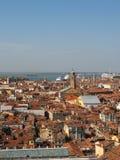 Toits de ville de Venise Images libres de droits