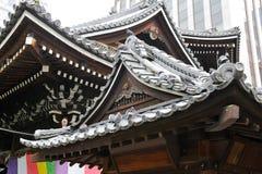 Toits du temple bouddhiste Photos libres de droits