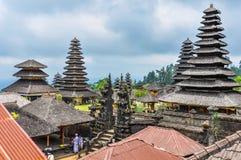 Toits en Pura Besakih Temple, Bali, Indonésie image stock