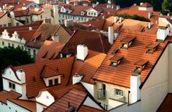 Toits, Prague, République Tchèque Image libre de droits