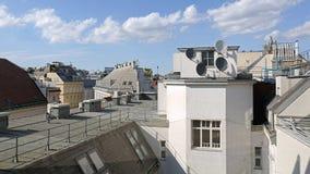 Toits Vienne images libres de droits