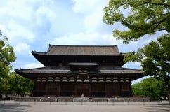 Toji寺庙的主要大厅,京都日本 库存图片