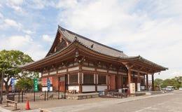 Toji寺庙的Jikido霍尔1930年在京都 联合国科教文组织站点 图库摄影