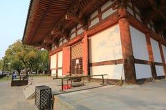 Toji寺庙,京都,日本 免版税库存图片