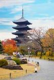 Toji świątynia w Kyoto, Japonia Fotografia Royalty Free