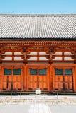 Toji świątynna tradycyjna architektura w Kyoto, Japonia fotografia royalty free