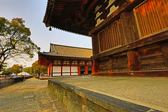 Toji tempel, Kyoto, Japan Arkivfoto