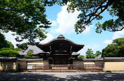 Toji temple and garden, Kyoto Japan. Royalty Free Stock Images
