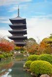 Toji Temple in Kyoto, Japan Royalty Free Stock Photos