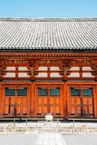Toji temple traditional architecture in Kyoto, Japan royalty free stock photography