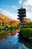 Toji Temple Royalty Free Stock Photo
