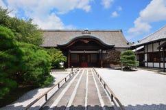 Tojitempel en tuin, Kyoto Japan Royalty-vrije Stock Foto's