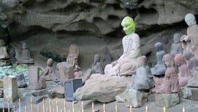 Tokai 1,500 Rakan at Nihon ji temple in Japan Stock Photo