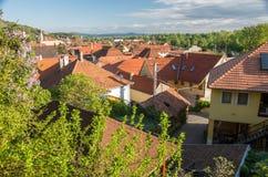 Tokaj, Hungary. View over the village of Tokaj, Hungary Stock Photography