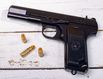 Tokarev pistol used by the Red Army Royalty Free Stock Image