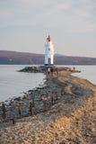 Tokarevskiy mayak latarnia morska w Vladivostok, Rosja Obrazy Royalty Free