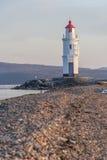 Tokarevskiy mayak lighthouse in Vladivostok,  Russia Royalty Free Stock Image
