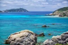 Tokashiki-Insel lizenzfreie stockfotografie