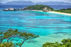 Tokashiki-Insel stockbild