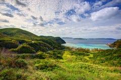 Tokashiki, Okinawa Landscape Royalty Free Stock Images