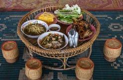 Toke oder Kantoke (thailändischer Name) Stockbild