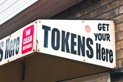 Token kiosk Stock Image