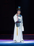 """A token of love- chilly temple-Jiangxi opera """"Red pearl"""" Royalty Free Stock Image"""