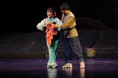 A token of love- Jiangxi opera a steelyard Royalty Free Stock Image