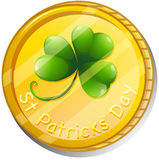 A token for St. Patrick's Day Royalty Free Stock Photography