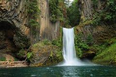 Toketee baja en Oregon Fotos de archivo libres de regalías