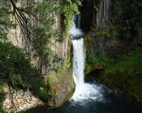 Toketee Falls Royalty Free Stock Images