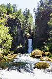 Toketee Falls, Oregon Royalty Free Stock Images