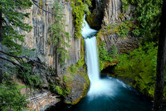Toketee Falls in Oregon Royalty Free Stock Photography
