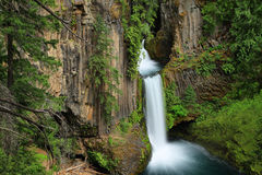 Toketee Falls in Oregon Stock Photos