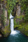 Toketee falls Oregon Royalty Free Stock Photo