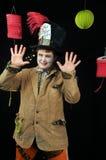 tokig deltagaretea för hatter Royaltyfri Bild