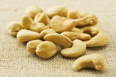 Tokig grillad cashew Arkivfoto