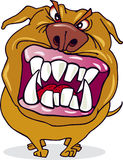 tokig tecknad filmhund Royaltyfri Fotografi