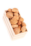 Tokiga mandlar Fotografering för Bildbyråer
