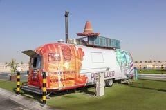 Tokiga Poco - en mexicansk matlastbil i Dubai Royaltyfri Bild