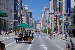 Tokio下午 库存图片