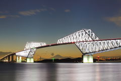 Tokio bramy most Obraz Stock