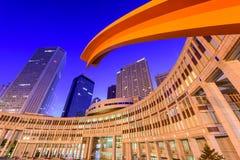 Tokio budynków Rządowy pejzaż miejski Obrazy Stock