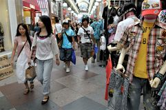Tokio centrum handlowe fotografia royalty free