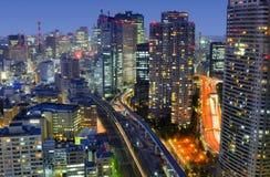 Tokio Citscape Fotografía de archivo