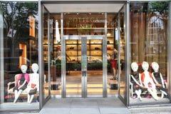 Tienda de la moda de Bottega Veneta imagen de archivo